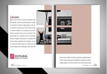 Broşür - Katalog Tasarımı