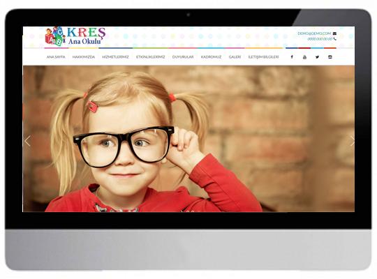 Kreş/Anaokulu Web Sitesi