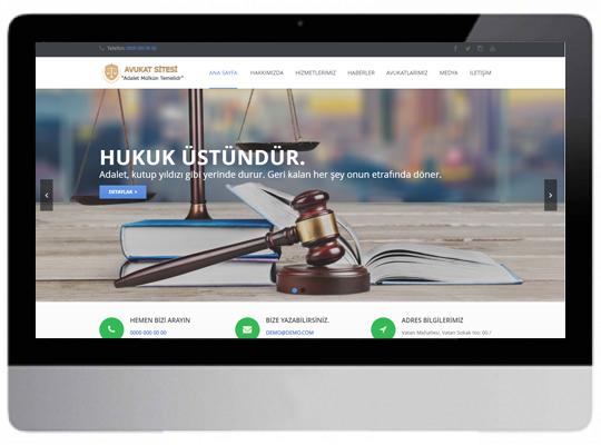 Hukuk/ Avukat Web Sitesi