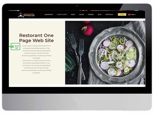 Cafe E-ticaret Web Sitesi