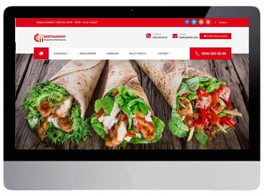 Cafe - Restaurant E-ticaret Web Sitesi