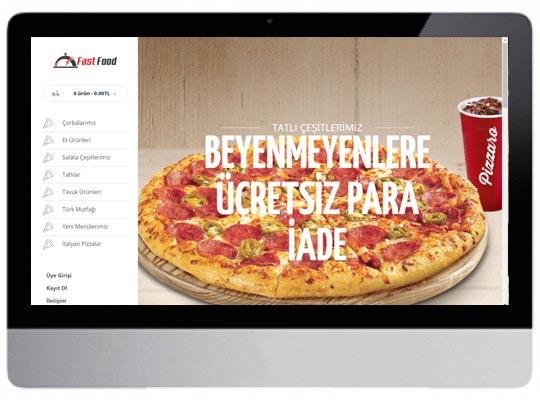 Cafe Restaurant E-ticaret Web Sitesi