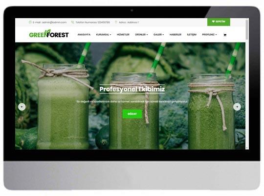 Gıda Tarım E-ticaret Web Sitesi
