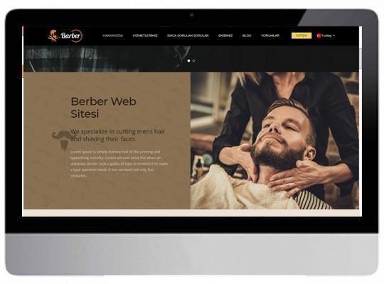 Berber Web Sitesi
