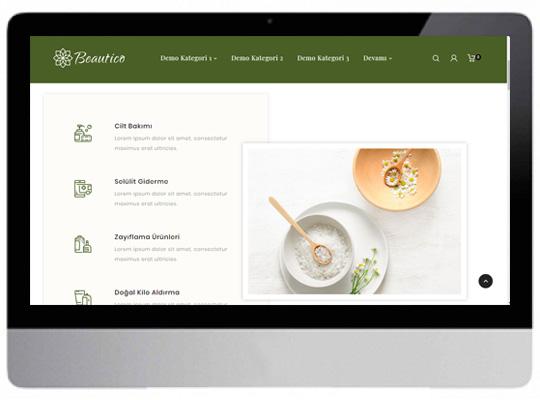 Kozmetik E-ticaret Web Sitesi