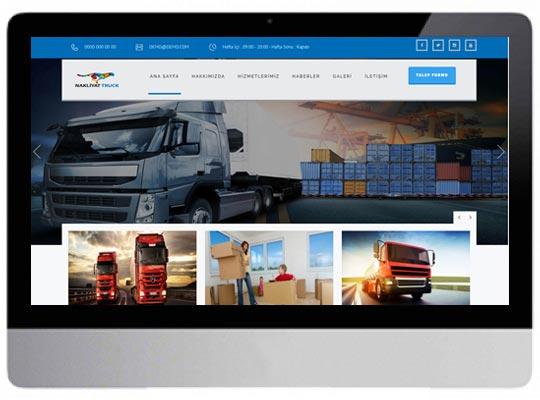 Nakliye Lojistik Web Sitesi