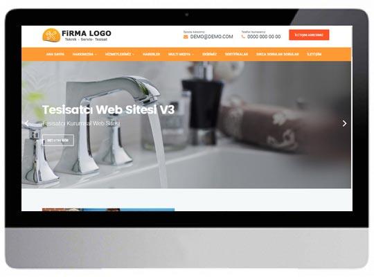 Tesisatçı Web Sitesi